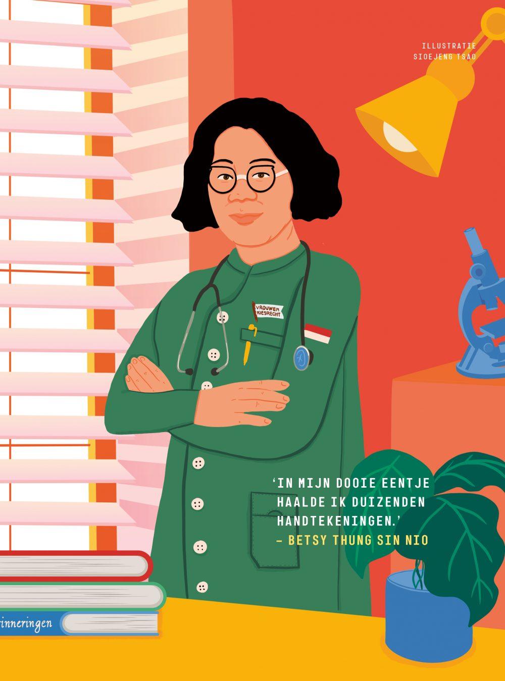 Bedtime Stories, 100 Dutch memorable women