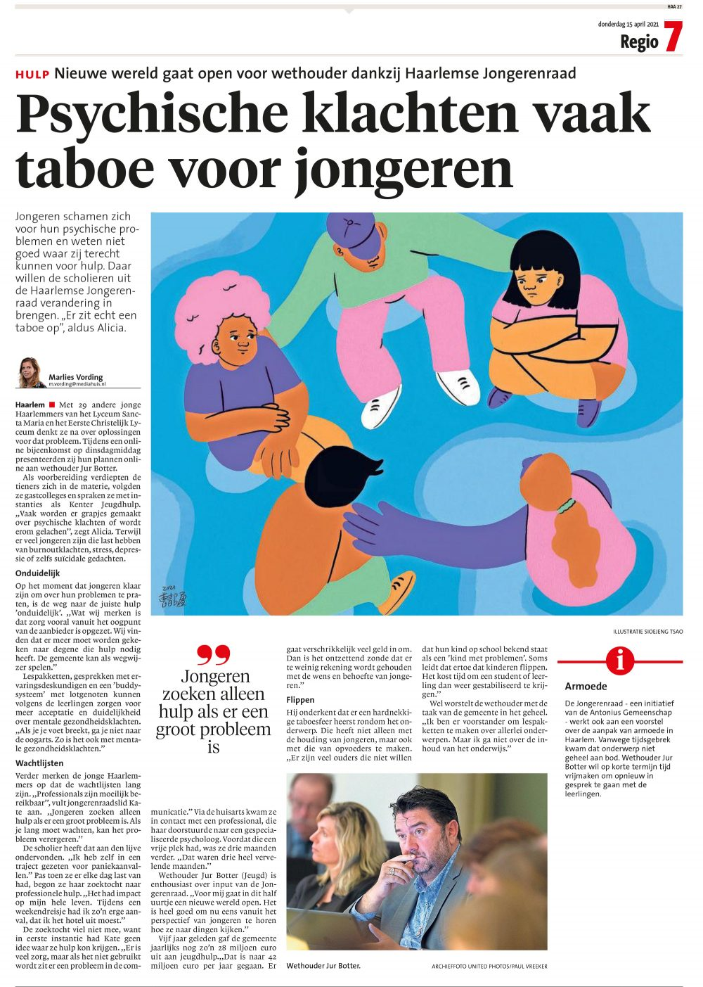 Haarlems Dagblad, 2021