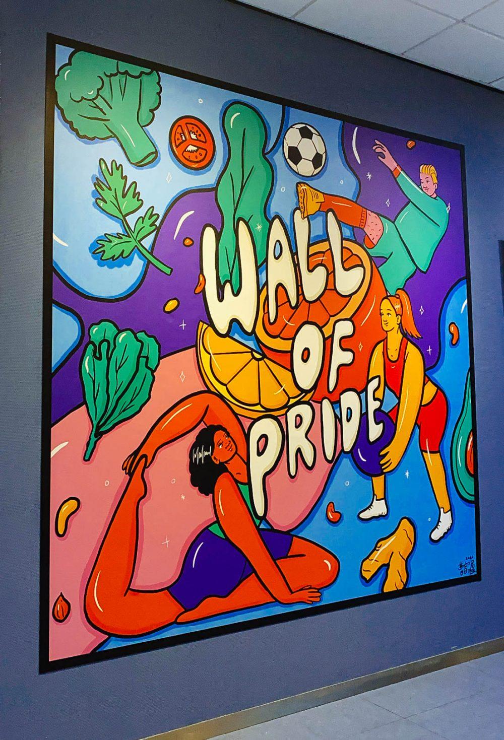 Wall of Pride, Hva June 2021